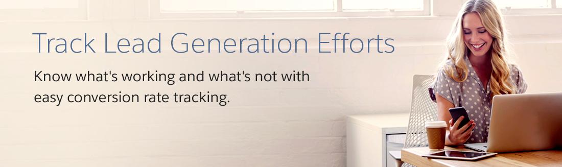 Track Lead Generation Efforts