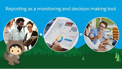 Explorar o Salesforce Analytics Relatórios como ferramenta de monitoramento e de tomada de decisões