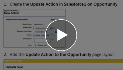 Provide Easy Access to Salesforce