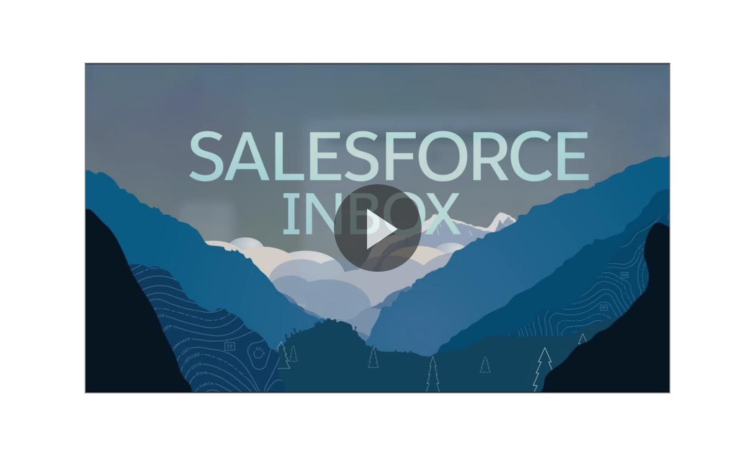 Salesforce Inbox Demo Video