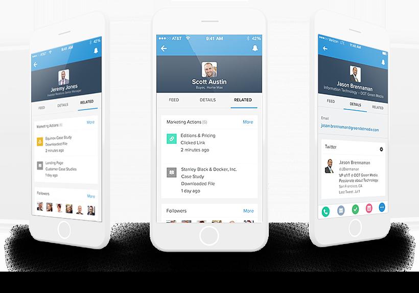 Salesforce Engage - Pardot - iPhones