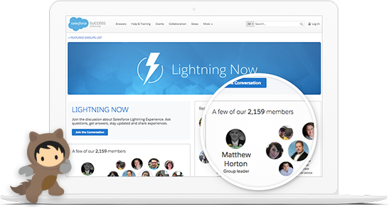 Lightning Now Success Community - Connect with the experts