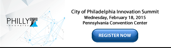 Philly Innovates National Summit on February 18, 2015