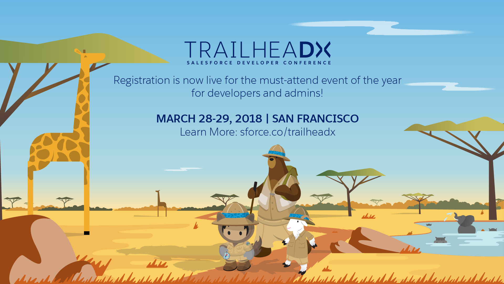 TrailheaDX: 2017 Salesforce Developer Conference