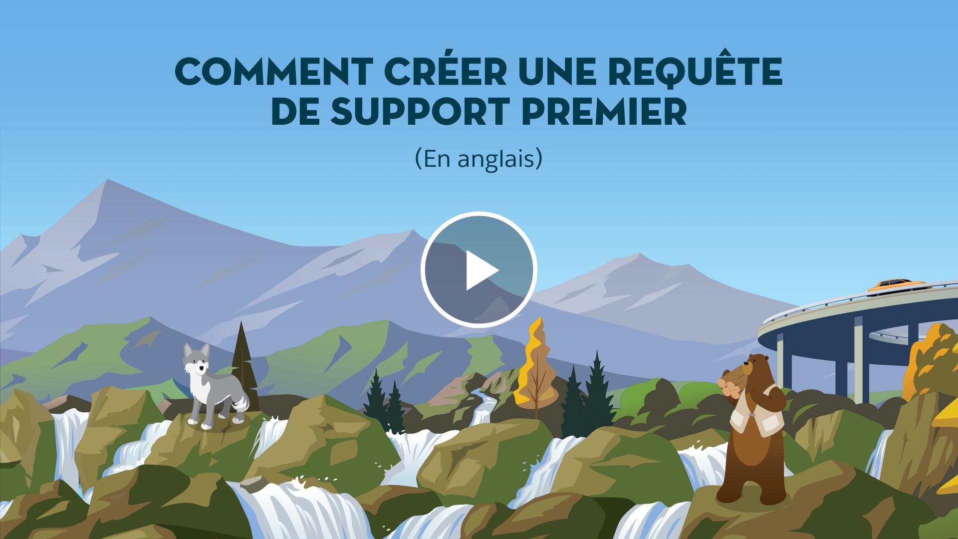 Comment créer une requête de support Premier (En anglais)