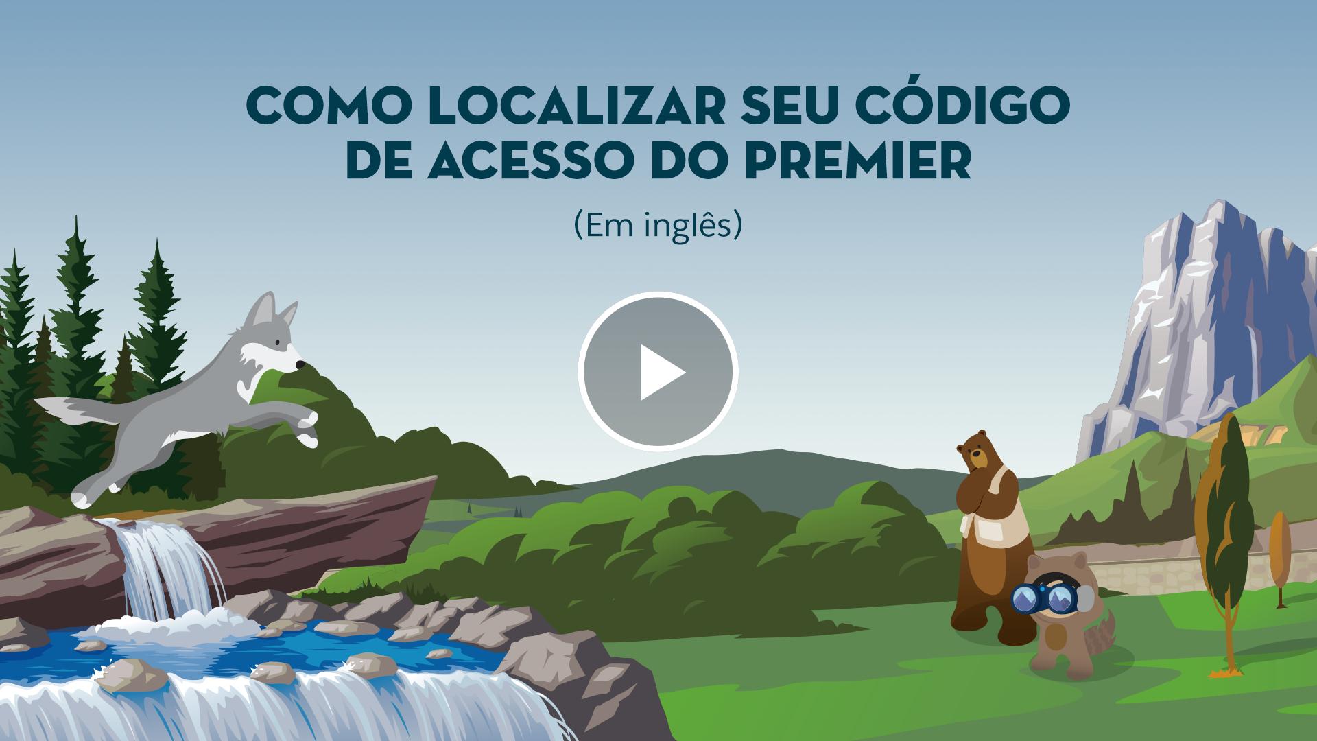 Como localizar seu código de acesso do Premier (Em inglês)