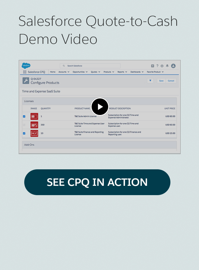 SEE CPQ IN ACTION