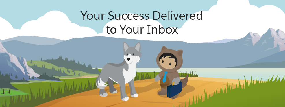 Your Success Delivered to Your Inbox