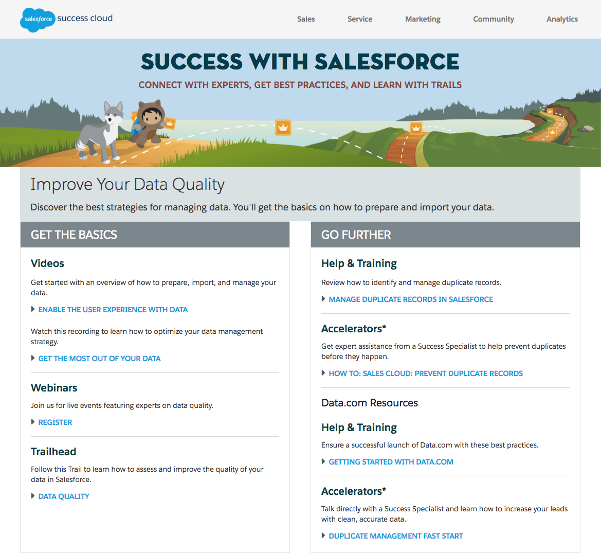 Salesforce Improve Data Quality