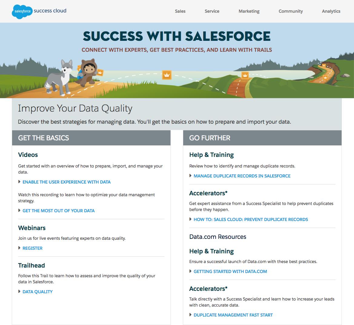 Salesforce Improve Data Quality