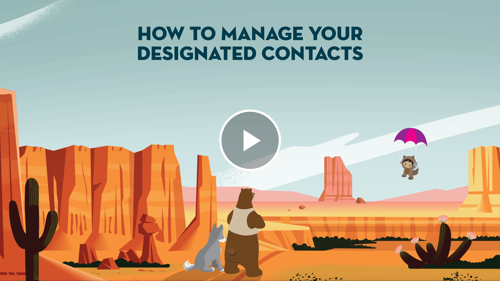 How to Manage Your Designated Contacts.