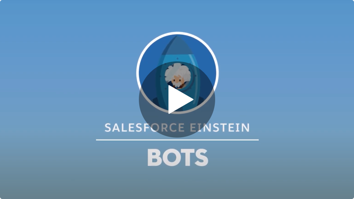 Salesforce Einstein Bots video